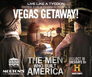 Live like a tycoon. Enter for a chance to win a Vegas getaway!